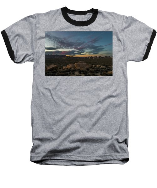 Sundown From Hilltop View Baseball T-Shirt