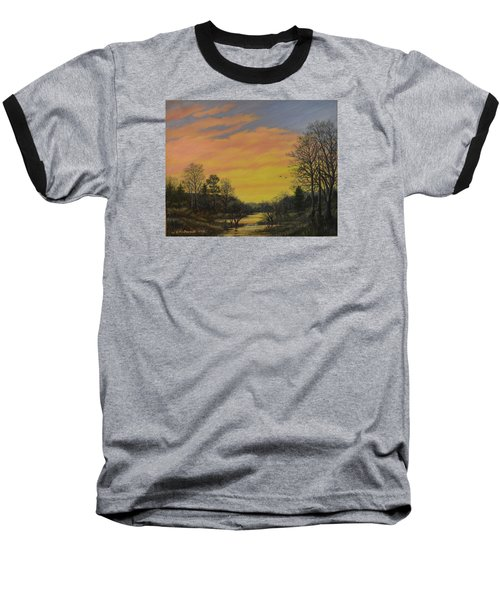 Sundown Glow Baseball T-Shirt