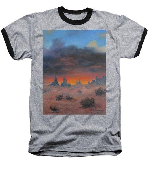Sundown On The Desert Baseball T-Shirt