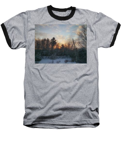 Sundown Winter New England Baseball T-Shirt