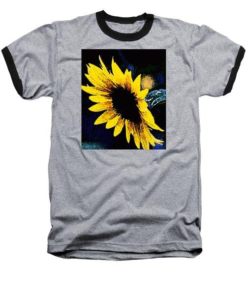 Baseball T-Shirt featuring the photograph Sunflower Art  by Juls Adams