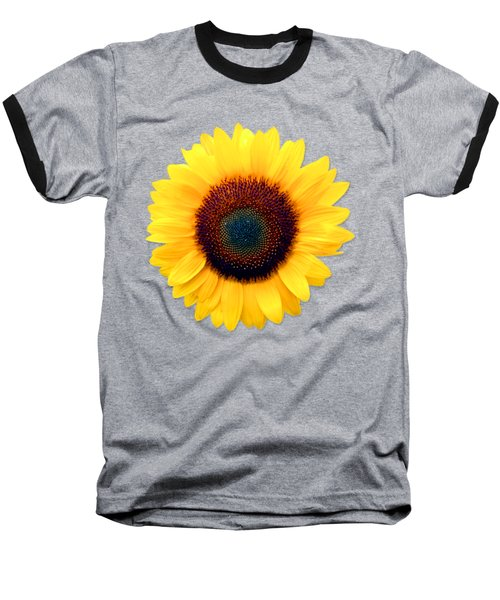 Sunflower Baseball T-Shirt by Bob Slitzan