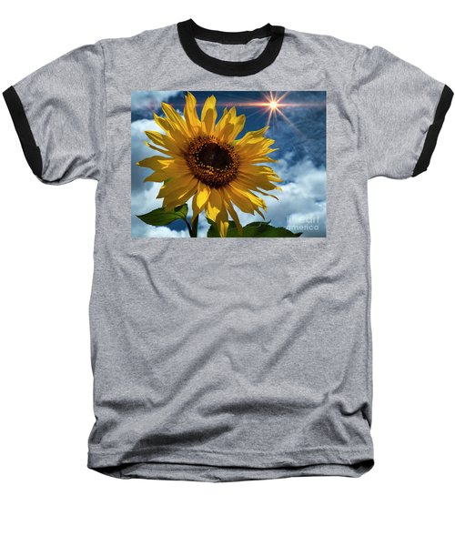 Sunflower Brilliance II Baseball T-Shirt