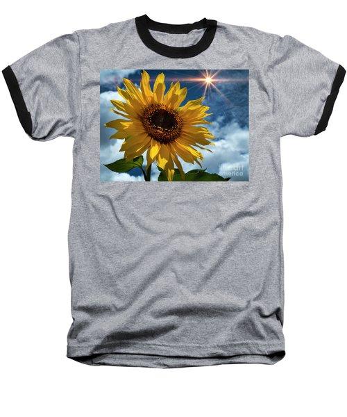 Sunflower Brilliance II Baseball T-Shirt