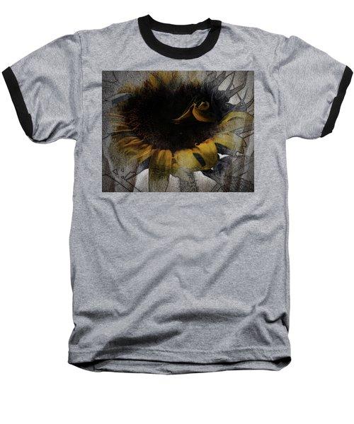 Sunflower Canvas Baseball T-Shirt