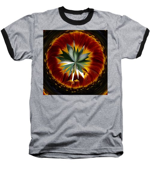 Sunflower Circle Baseball T-Shirt