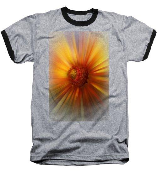 Sunflower Dawn Zoom Baseball T-Shirt