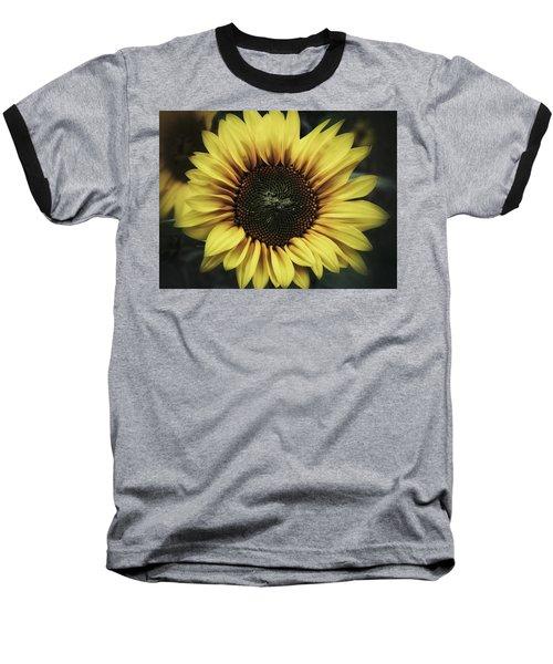 Sunflower Dream Baseball T-Shirt by Karen Stahlros