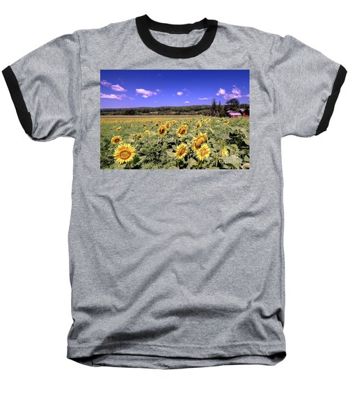 Sunflower Farm Baseball T-Shirt
