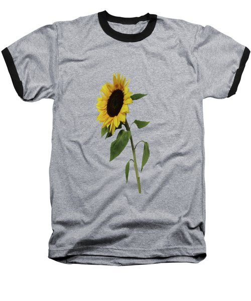 Sunflower Glow Baseball T-Shirt