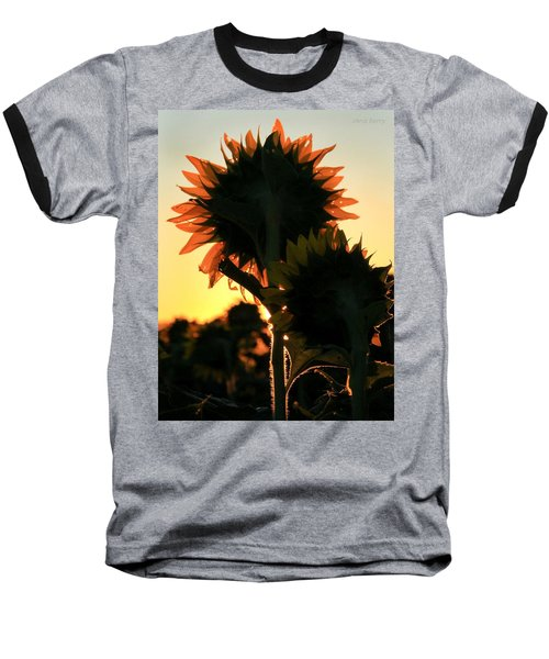 Baseball T-Shirt featuring the photograph Sunflower Greeting  by Chris Berry