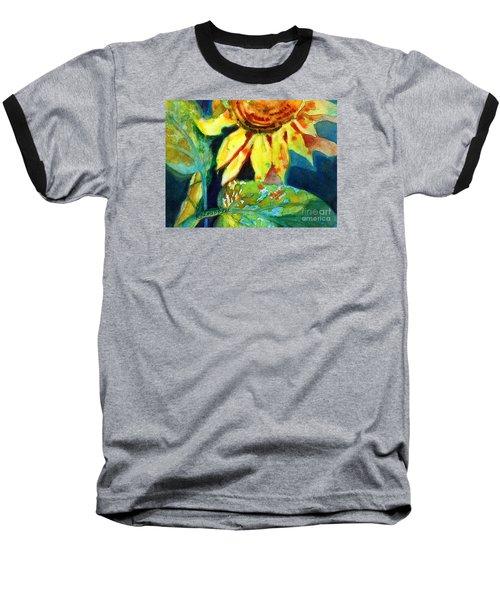 Sunflower Head 4 Baseball T-Shirt