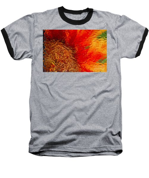 Baseball T-Shirt featuring the photograph Sunflower Impressions by Jeanette French