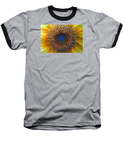 Sunflower Jewels Baseball T-Shirt by Suzanne Stout