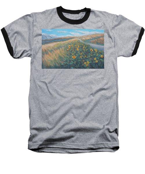 Sunflower Journey Baseball T-Shirt