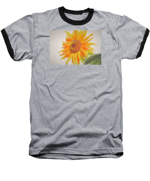 Sunflower Painting Baseball T-Shirt