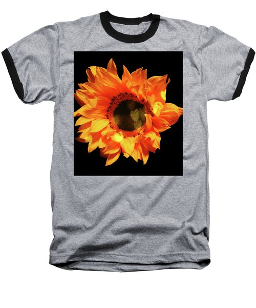 Sunflower Passion Baseball T-Shirt