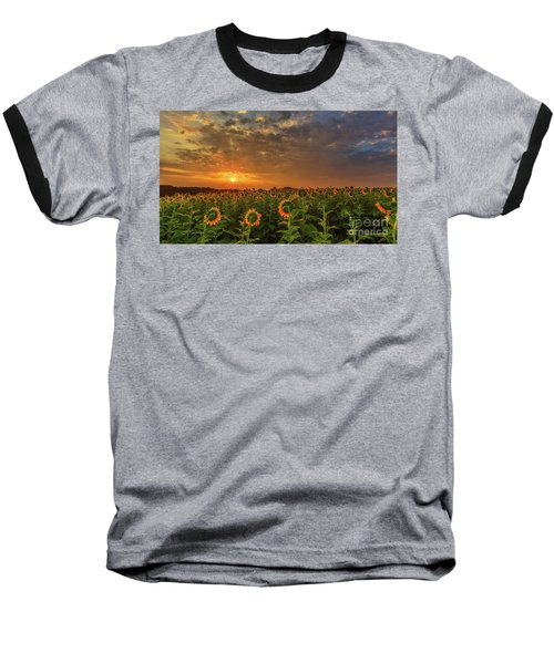 Sunflower Peak Baseball T-Shirt