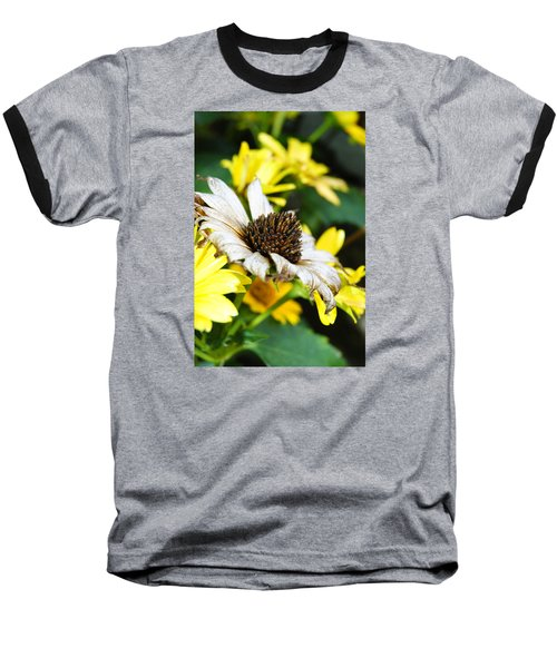 Baseball T-Shirt featuring the photograph Sunflower Promise by Margie Avellino