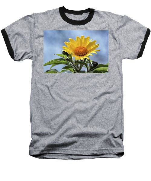 Baseball T-Shirt featuring the photograph Sunflower  by Saija Lehtonen
