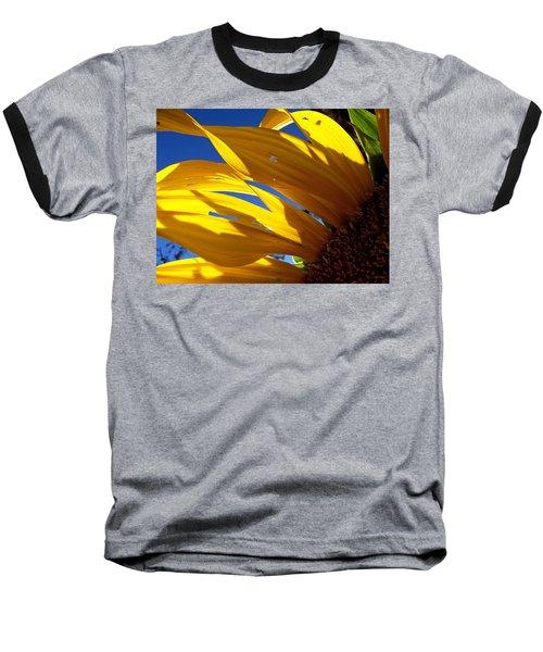 Sunflower Shadows Baseball T-Shirt