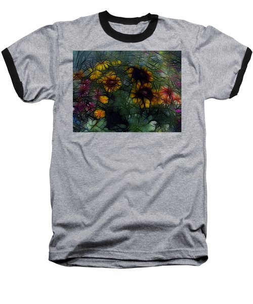 Sunflower Streaks Baseball T-Shirt