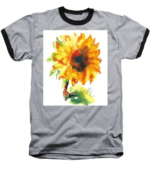 Sunflower With Blues Baseball T-Shirt