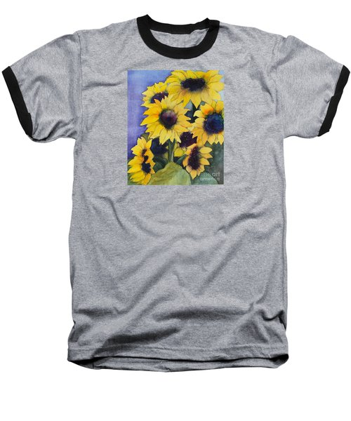 Sunflowers 17 Baseball T-Shirt