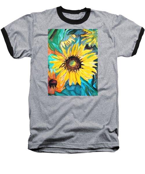 Sunflowers 7 Baseball T-Shirt
