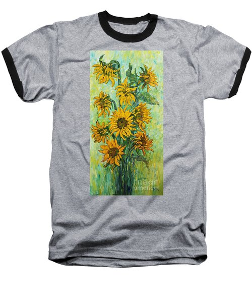 Sunflowers For This Summer Baseball T-Shirt