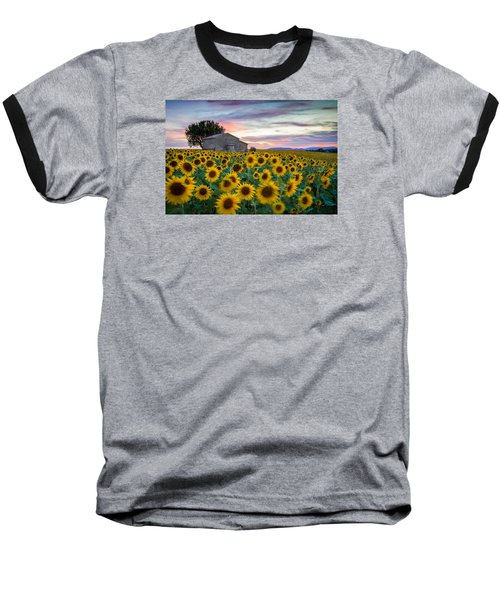 Sunflowers In Provence Baseball T-Shirt