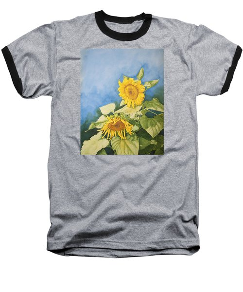 Sunflowers Baseball T-Shirt
