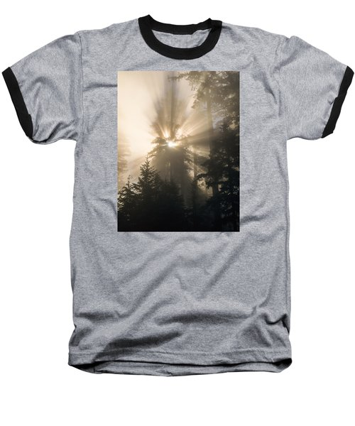 Sunlight And Fog Baseball T-Shirt