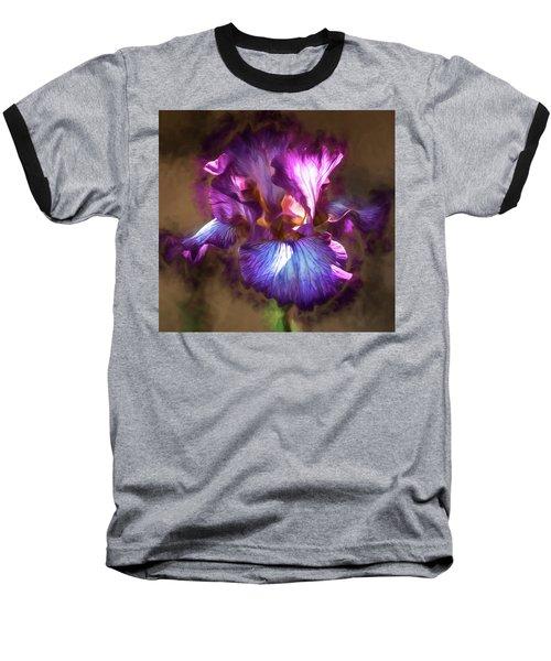 Sunlight Dancing On Iris Baseball T-Shirt