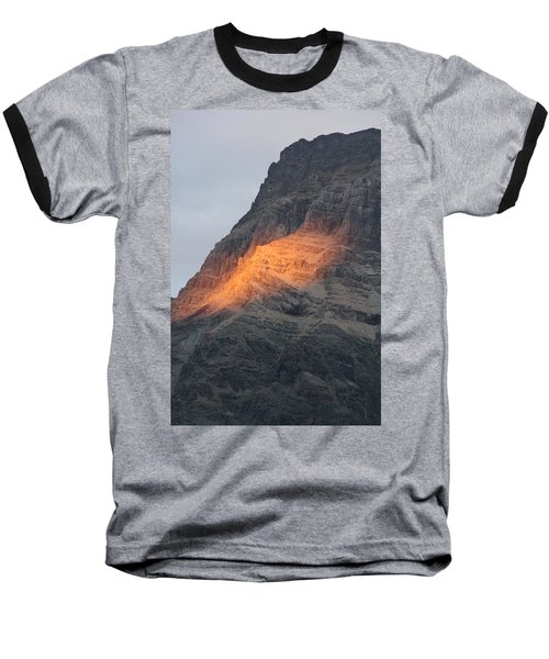 Baseball T-Shirt featuring the photograph Sunlight Mountain by Mary Mikawoz