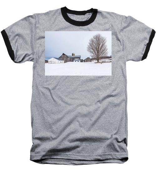 Sunlight On Abandoned Buildings Baseball T-Shirt