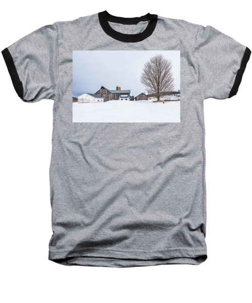 Sunlight On Abandoned Buildings Baseball T-Shirt