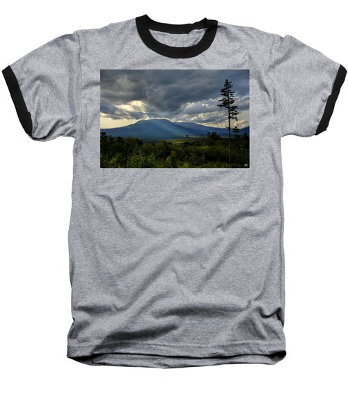 Sunlight On Katahdin Baseball T-Shirt