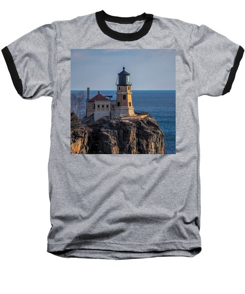 Sunlight On Split Rock Lighthouse Baseball T-Shirt