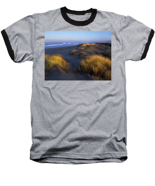 Sunlight On The Beach Grass Baseball T-Shirt