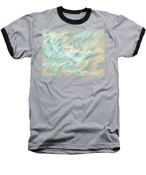 Baseball T-Shirt featuring the digital art Sunlight On Water by Amyla Silverflame