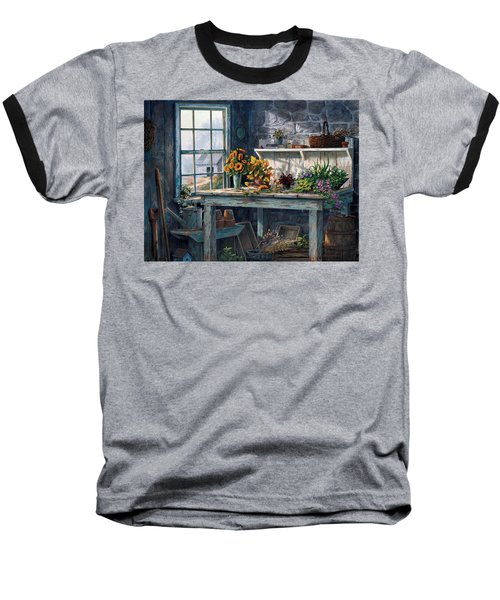 Sunlight Suite Baseball T-Shirt by Michael Humphries