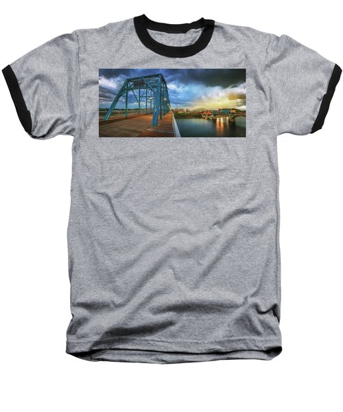 Sunlight Thru Rain Over Chattanooga Baseball T-Shirt