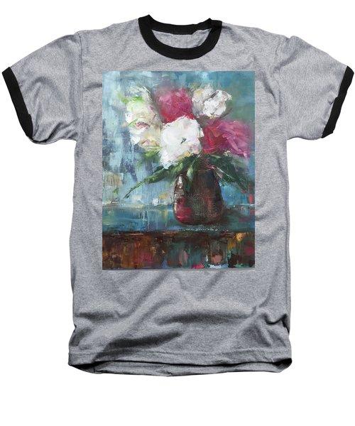 Sunlit Bouquet Baseball T-Shirt
