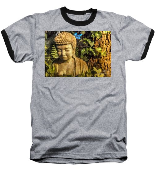 Sunlit Buddha 2015 Baseball T-Shirt