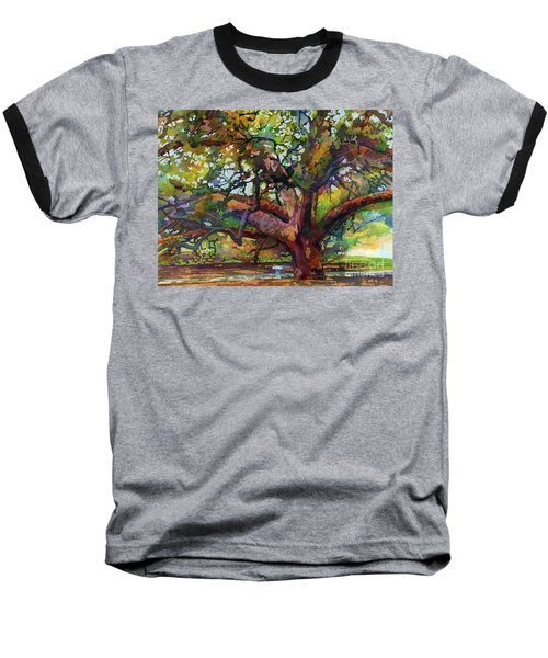 Sunlit Century Tree Baseball T-Shirt