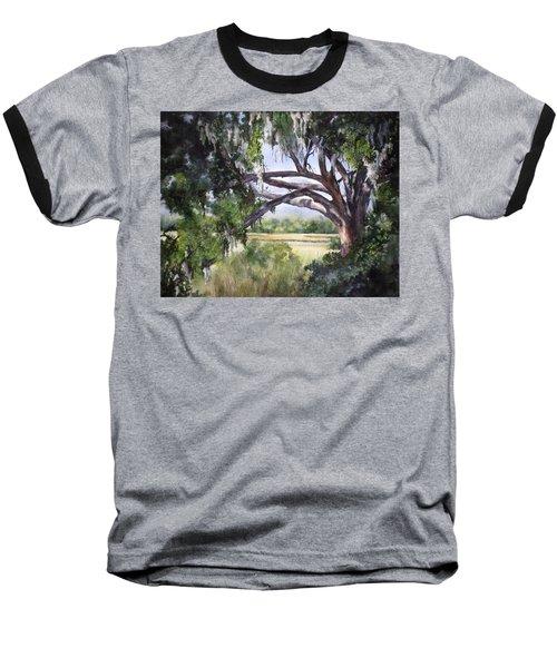 Sunlit Marsh Baseball T-Shirt