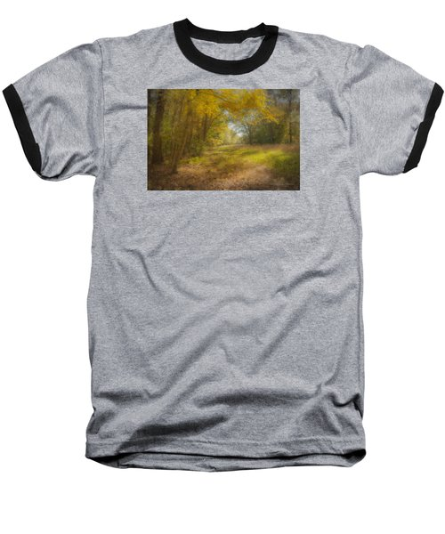 Sunlit Meadow In Borderland Baseball T-Shirt