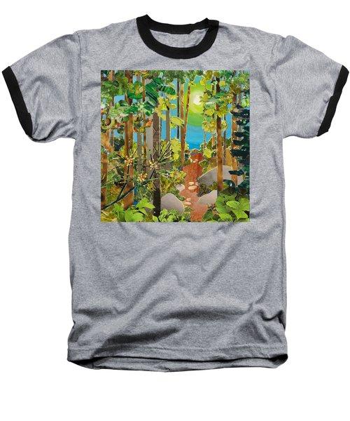 Sunlit Path Baseball T-Shirt