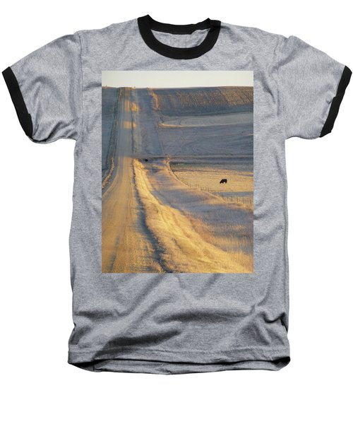 Sunlit Road Baseball T-Shirt